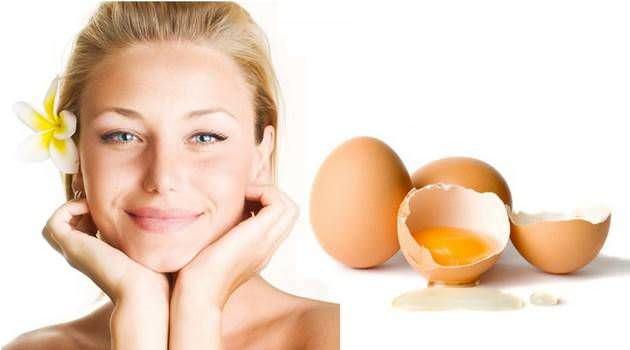 Маска для волос с яйцом и молоком