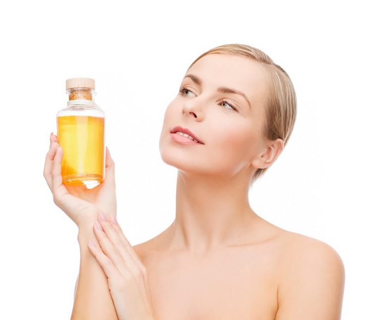 Льняное масло для восстановления поврежденных волос