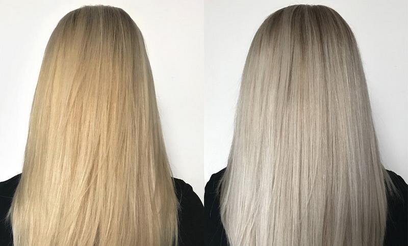 Как и чем убрать желтизну волос после осветления в домашних условиях