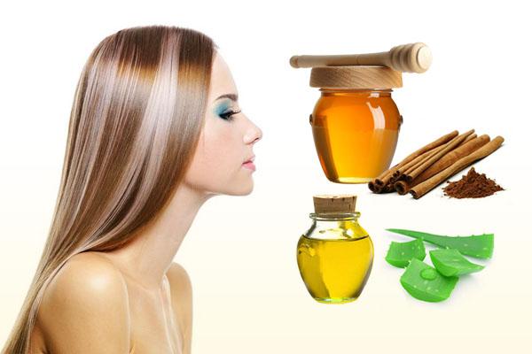 Осветление волос с помощью меда и корицы