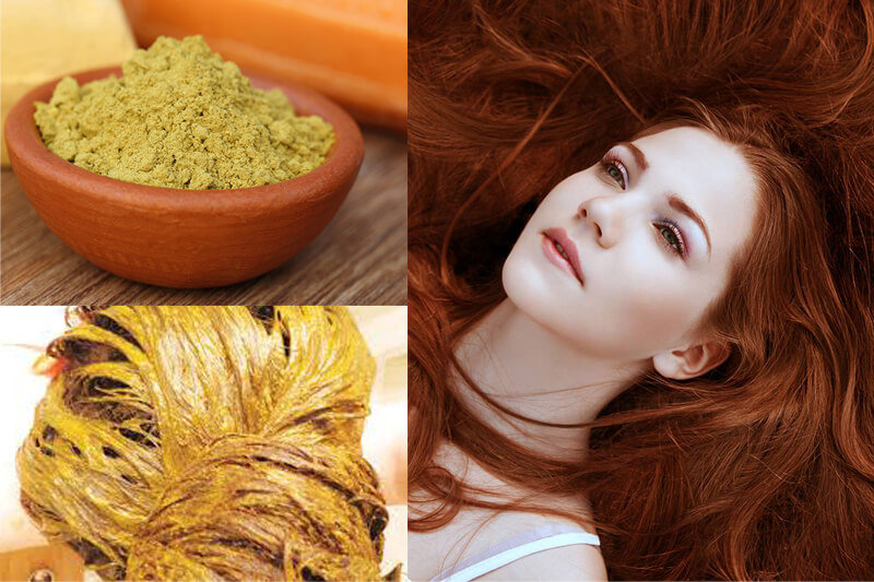 Бесцветная хна для улучшения качества волос