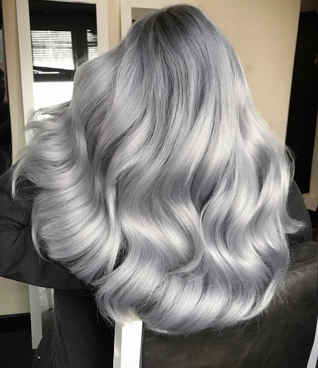 Обзор оттенков пепельного цвета волос