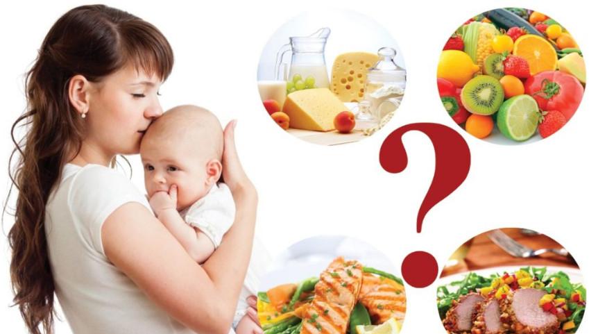 От каких продуктов нужно отказаться кормящей маме